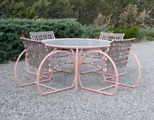 Great Vintage Thinline Epic Cast Aluminum Patio Dining Set Brown Jordan | Retro  Patio | Pinterest | Brown Jordan