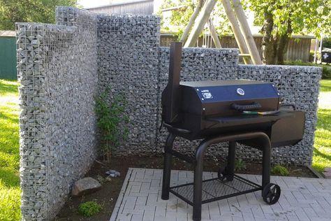Gabionenwand Online Kaufen Steinkorbe Als Sichtschutz Im Garten
