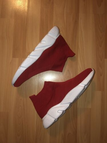 Fila Sock Shoes Speed Trainer Running Shoes RED Size 12