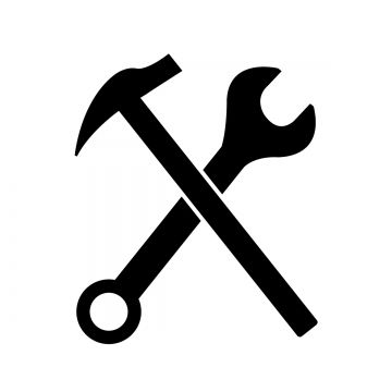 Hammer And Wrench Icon Wrench Clipart Wrench Icons Hammer Icons Png And Vector With Transparent Background For Free Download Construction Symbols Infographic Design Free Hammer Logo