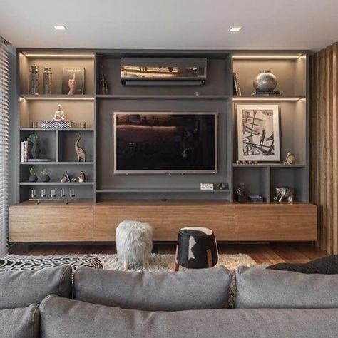 meuble tv en 2021 mobilier de salon