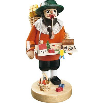 The Holiday Aisle Richard Glaesser Toy Seller Incense Burner