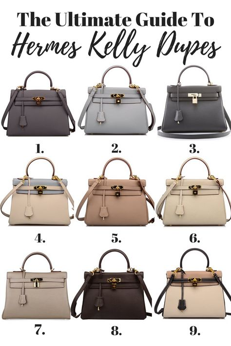 d38582c6fae9 Hermes Kelly Bag Dupes - Your Ultimate Guide To Hermes Kelly Inspired Bags