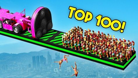 TOP 100 FUNNIEST GTA 5 FAILS EVER! (Funny Moments Grand