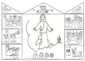 Catequesis Primera Comunión Mision Continental Y Triptico Artesanía Biblica Catequesis Manualidades Para Escuela Dominical