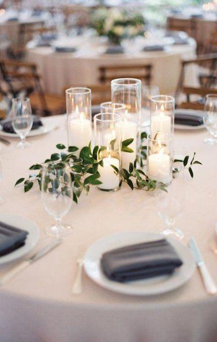 23 Ideas Farmhouse Table Wedding Centerpieces Center Pieces Cheap Wedding Centerpieces Greenery Wedding Centerpieces Wedding Centerpieces