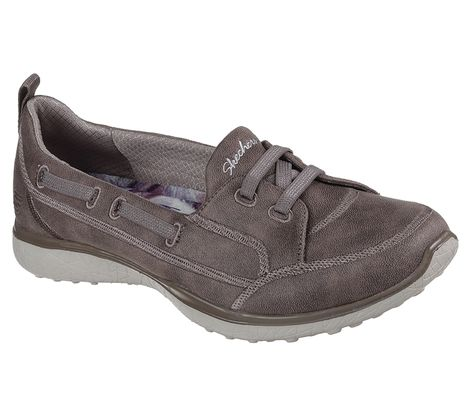 Shop Men's Skechers Leather Slip ons up