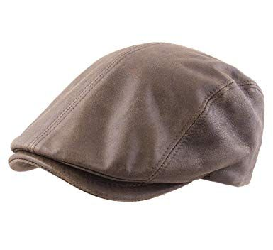 9cf944a1e9db5 Discover ideas about Winter Hats For Men. Stetson Lanesboro Pigskin Leather Flat  Cap ...
