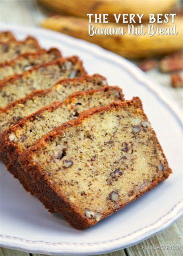 The Very Best Banana Nut Bread Recipe Banana Nut Bread Buttermilk Banana Bread Banana Nut Bread Easy