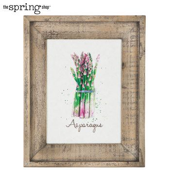 Asparagus Wood Wall Decor Wood Wall Decor Word Wall Decor Wall