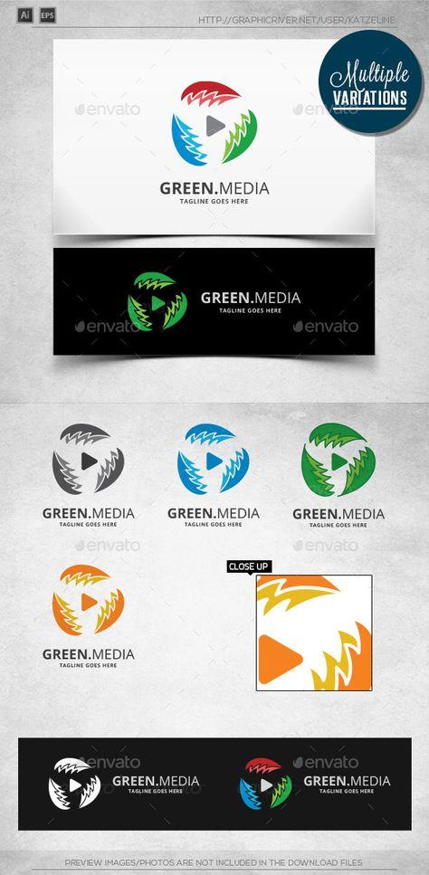 Green Player - Logo Template