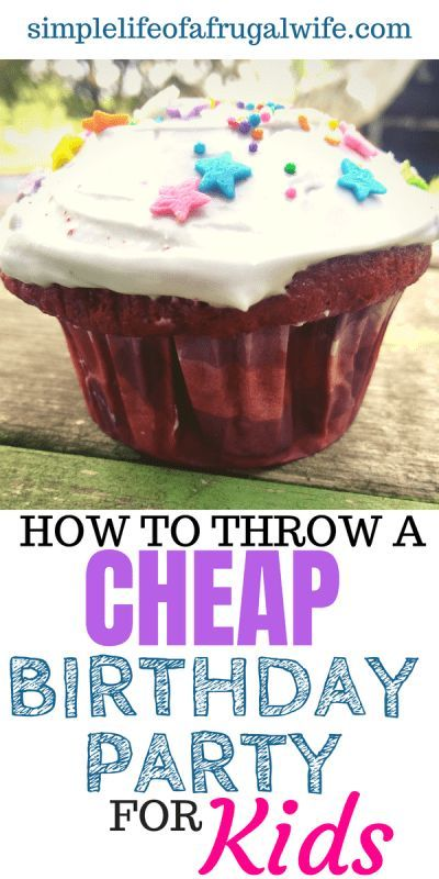 How To Throw A Cheap Birthday Party For Kids Simple Life Of A