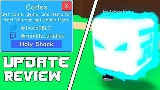 New Update Boost Codes 2 Holy Shock Pets Roblox 7 New Working Boost Codes Bubble Gum Simulator Update 16 Review Roblox Bubble Gum Roblox Bubbles