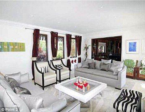 Kardashian miami house decor
