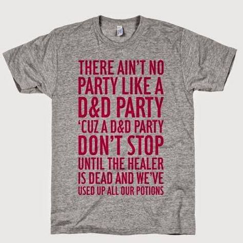 8df46deedd Ain't no party like a D&D party!