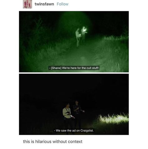 Buzzfeed Unsolved - I've never watched this so I don't have context and its hilarious