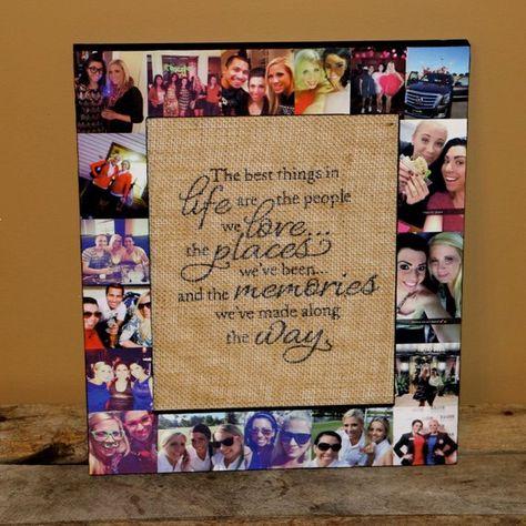Best Friend Photo Frame Best Friend Gift Girls Night Out | Etsy