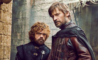 Game Of Thrones Peter Dinklage Nikolaj Coster Waldau Jaime And Tyrion Lannister Brothers Tyrion Cersei And Jaime Game Of Thrones Artwork