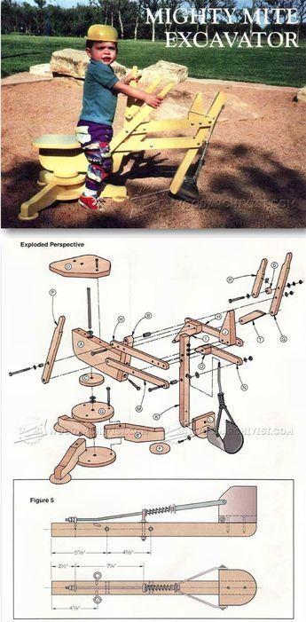 Sandpit Digger Plans Children S Outdoor Plans And Projects Woodarchivist Com Woodworkingforkids Wood Projects For Kids Woodworking Toys Wooden Toys Plans