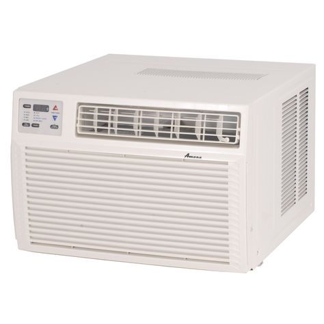 Amana 11600 Btu 600 Sq Ft 230 Volt Through The Wall Air Conditioner With Heater Ae123g35ax In 2020 Air Conditioner With Heater Window Air Conditioner Air Conditioner Heater
