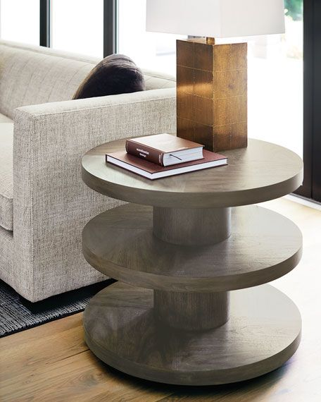 Bernhardt Profile 3 Tier Side Table Side Table Table Coffee Table