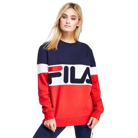 1ae8a0aeb00 Image result for navy and red fila jacket womens