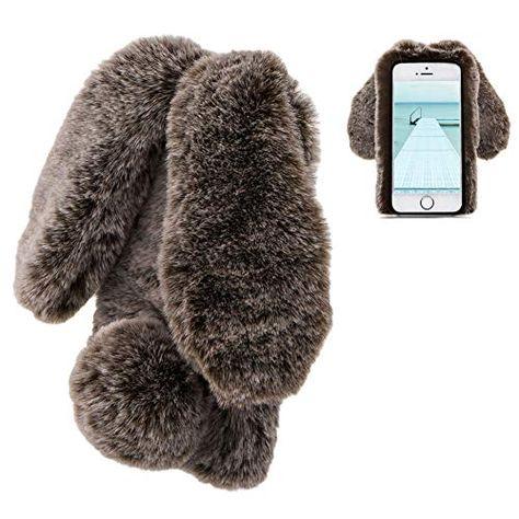 coque iphone 6s fourrure lapin