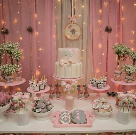 Best Baby Shower Elephant Theme Decorations First Birthdays 53