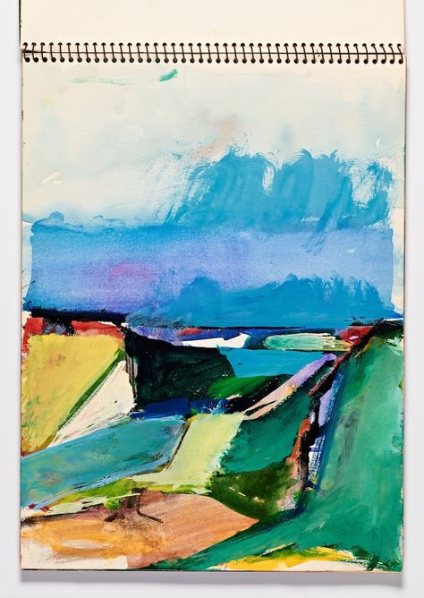 "A Lifetime of Sketchbooks from Postwar Painter Richard Diebenkorn ""Bay Area artist Richard Diebenkorn kept sketchbooks for his entire career; they served as a sort of nomadic studio where he..."