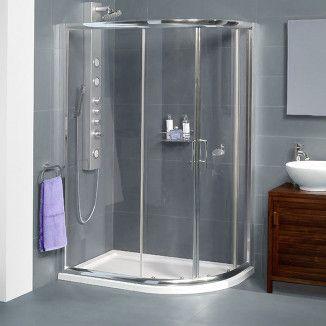 Aquafloe 6mm 900 X 760 Offset Sliding Door Quadrant Enclosure Quadrant Shower Enclosures Shower Enclosure Quadrant Shower