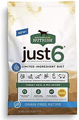 Amazon Com Rachael Ray Nutrish Just 6 Natural Premium Dry Dog