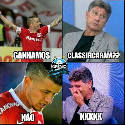 Diario De Um Gaucho Grosso Meme Do Inter Piadas De Futebol Memes De Futebol Gremistas