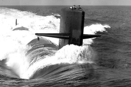 USS Thresher SSN 593 Submarine Magnet NEW Sub Ship
