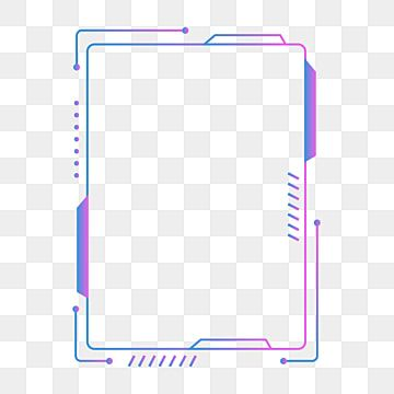 Office Business Technology Sense Simple And Cool Frame Cool Simple Purple Png And Vector With Transparent Background For Free Download Cool Stuff Geometric Lines Frame