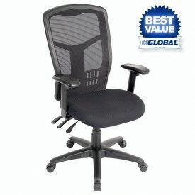 Interion Multifunction Premium Mesh Back Office Chair Meshofficechair Office Chair Mesh Office Chair Mesh Task Chair