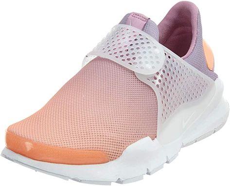 save off e9cfe c7be1 Amazon.com   NIKE Sock Dart Breathe Women s Shoes Sunset Glow Orchid Glacier  Blue White 896446-800 (7 B(M) US)   Fashion Sneakers