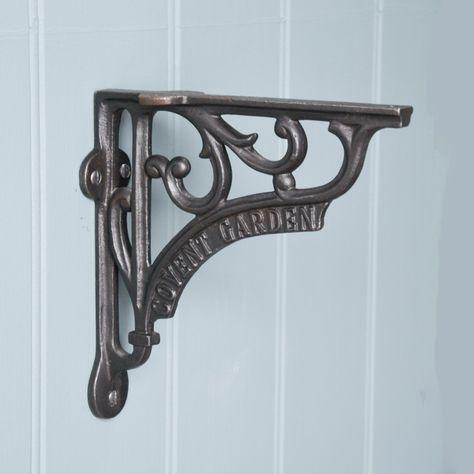 Covent Garden Ornate Bracket Cast Iron Decorative Shelf Brackets Kitchen Shelf Brackets Cast Iron Brackets