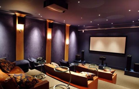 35 modern media room designs that will blow you away homey home rh pinterest com  modern home media rooms