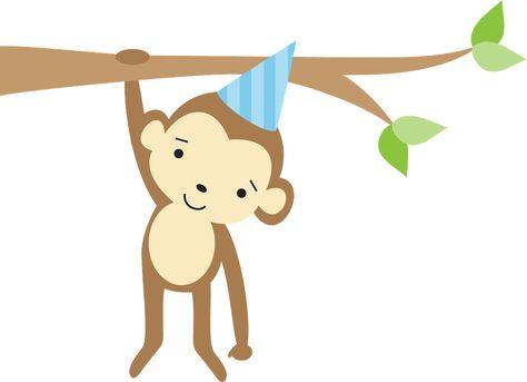 Floresta E Safari 2 Minus Monkey Illustration Pet Accessories Cute Animals