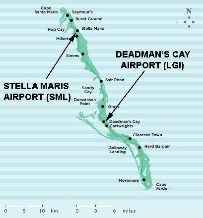 Travel Information for Long Island and The Bahamas