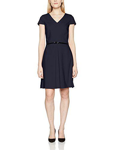 S Oliver Black Label Damen Kleid 11702826282 Blau Dark Blue 5959 44 Frau Neues Kleid Kleid Arbeit