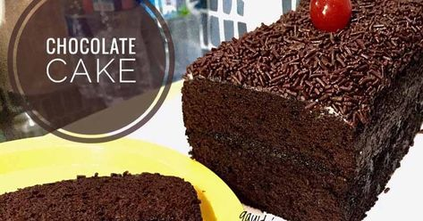 Cake Coklat Favorit Anak Anak Dihias Simpel Saja Ini Cake Kukus Ya Pakai Resep Brownies Kukus Ny Liem Tapi Hanya Resep Kue Coklat Kue Cokelat Makanan Manis