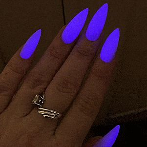 Glow In The Dark Nails Neon Nail Polish Neon Nails Glow Nails