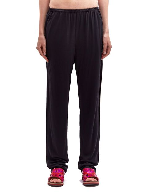 Lanvin Women s Contrast Piping Track Pants In Black  1c3b306b39595
