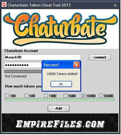 Chaturbate token tool