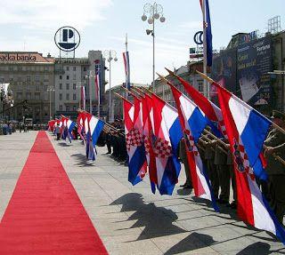 Independence Of The Republic Of Croatia Croatia Osijek Zagreb