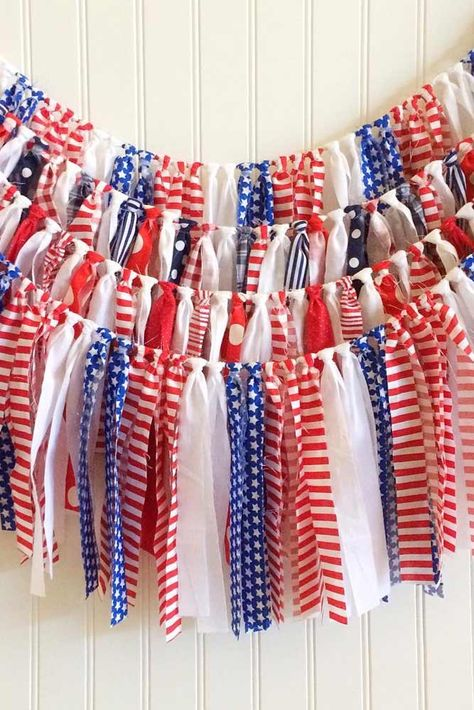 54 Creative Ideas For The 4th Of July Decorations Patriotic Dos