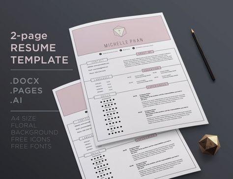 120 best Resume designs images on Pinterest Design resume - resume presentation folder