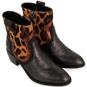 comprar bien brillo encantador proporcionar una gran selección de Gioseppo - - Botín estilo Cowboy Leopardo | Moda Zapatos ...