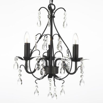 House Of Hampton Spielman 3 Light Candle Style Classic